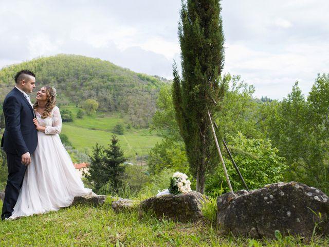 Il matrimonio di Daniele e Jessica a Dicomano, Firenze 67