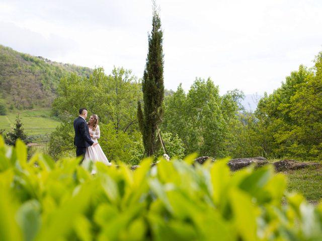 Il matrimonio di Daniele e Jessica a Dicomano, Firenze 68