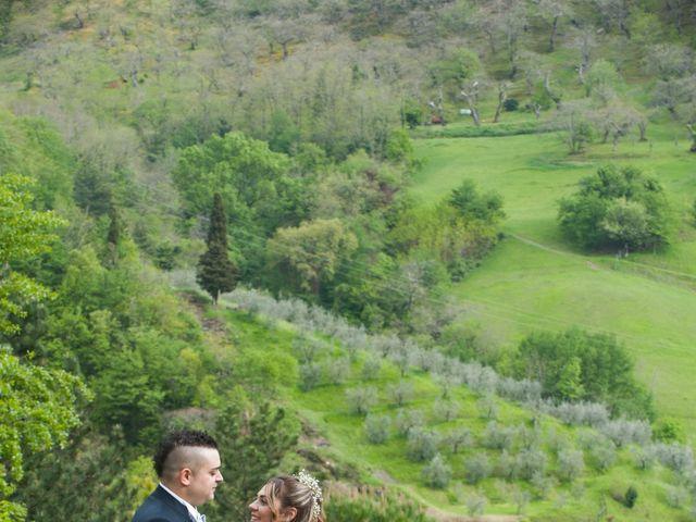 Il matrimonio di Daniele e Jessica a Dicomano, Firenze 2