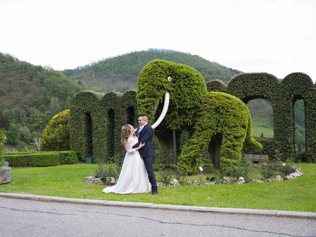 Il matrimonio di Daniele e Jessica a Dicomano, Firenze 71