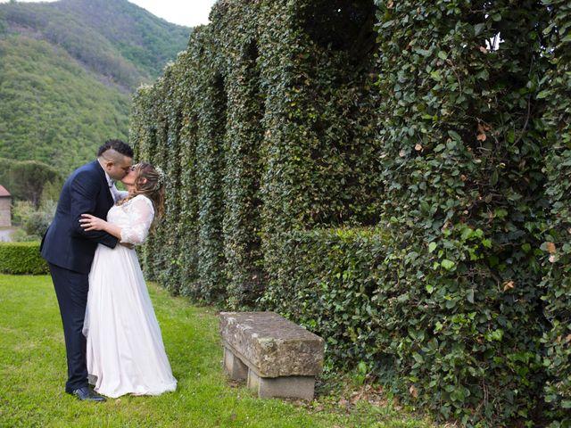Il matrimonio di Daniele e Jessica a Dicomano, Firenze 73