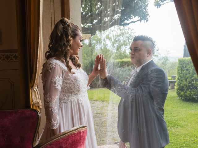 Il matrimonio di Daniele e Jessica a Dicomano, Firenze 76