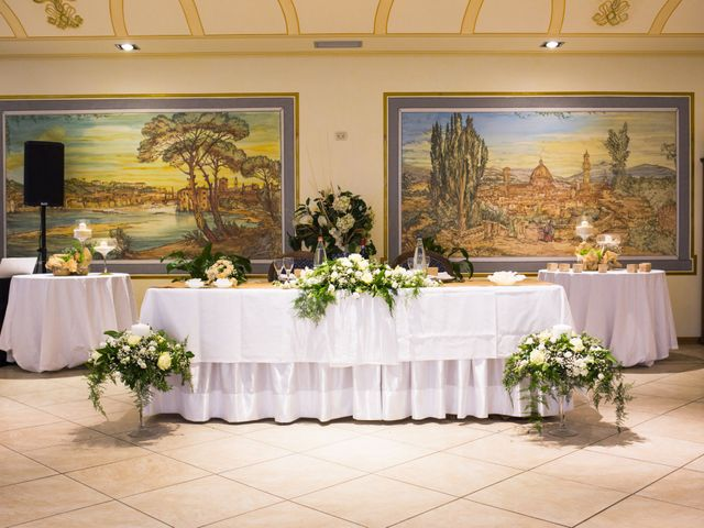 Il matrimonio di Daniele e Jessica a Dicomano, Firenze 79