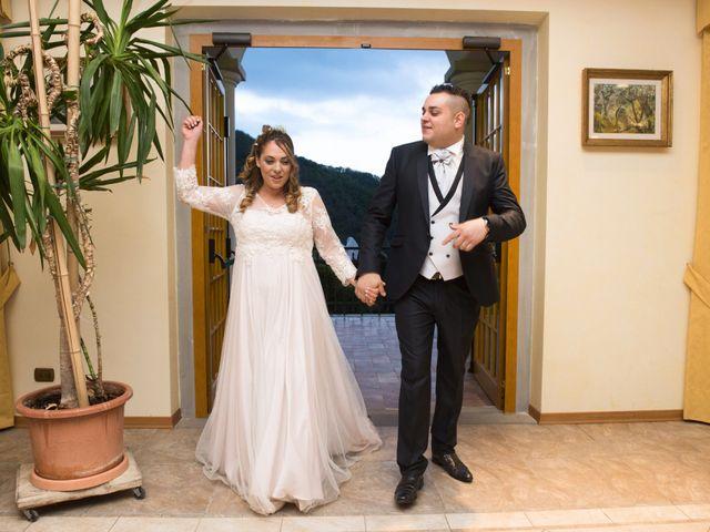 Il matrimonio di Daniele e Jessica a Dicomano, Firenze 81