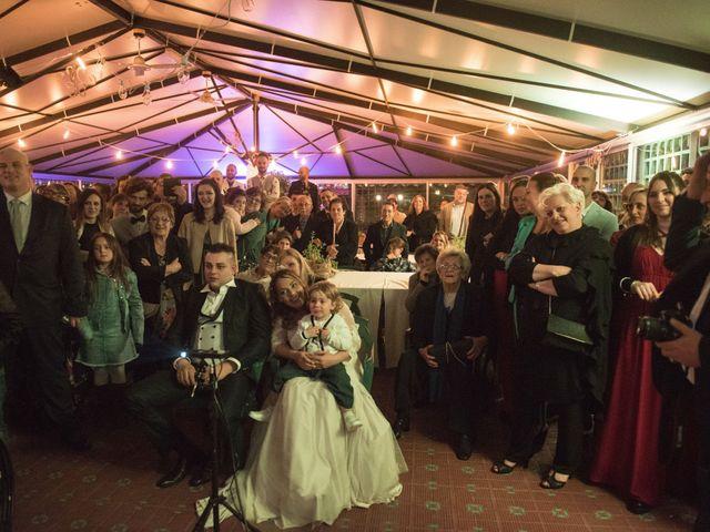 Il matrimonio di Daniele e Jessica a Dicomano, Firenze 86