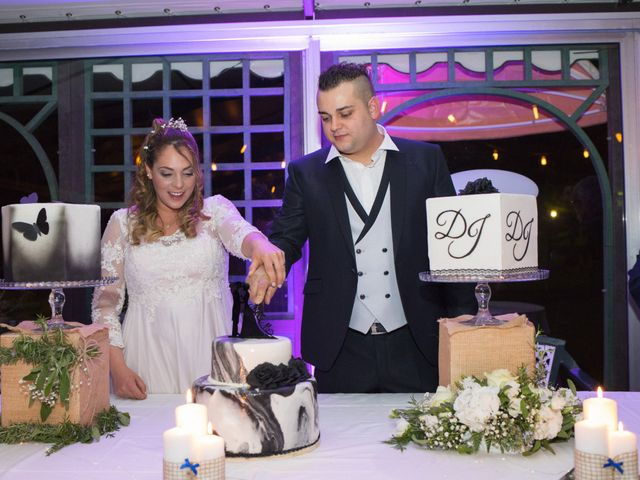Il matrimonio di Daniele e Jessica a Dicomano, Firenze 87