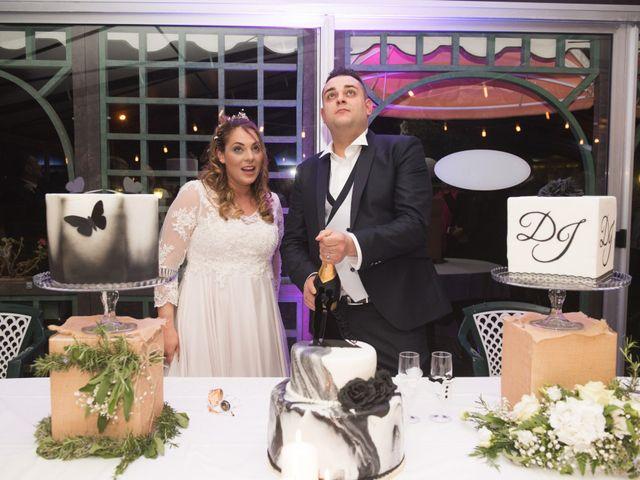 Il matrimonio di Daniele e Jessica a Dicomano, Firenze 88