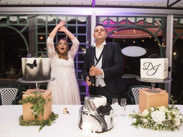 Il matrimonio di Daniele e Jessica a Dicomano, Firenze 89