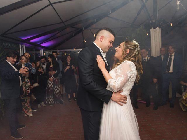 Il matrimonio di Daniele e Jessica a Dicomano, Firenze 93