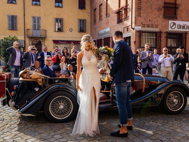 Il matrimonio di Luca e Chiara a Cherasco, Cuneo 28