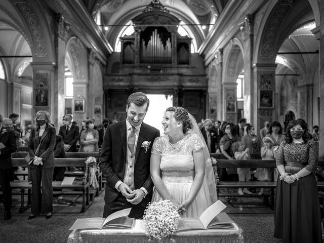 Il matrimonio di Matteo e Maria a Scanzorosciate, Bergamo 14