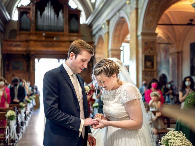 Il matrimonio di Matteo e Maria a Scanzorosciate, Bergamo 16