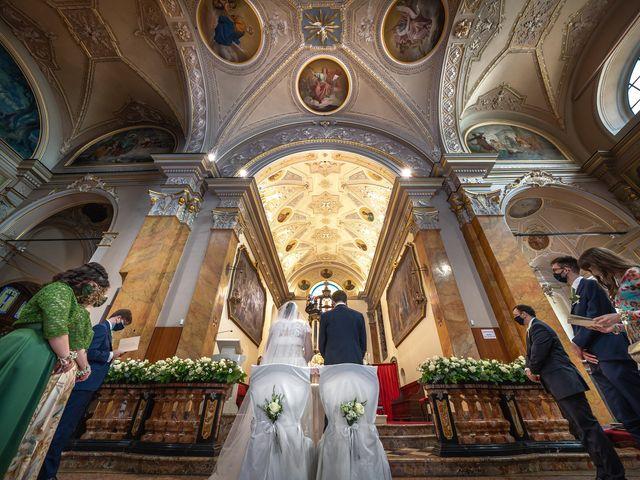 Il matrimonio di Matteo e Maria a Scanzorosciate, Bergamo 18