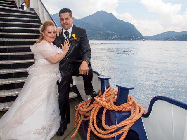 Il matrimonio di Cesar e Viviana a Cannobio, Verbania 1