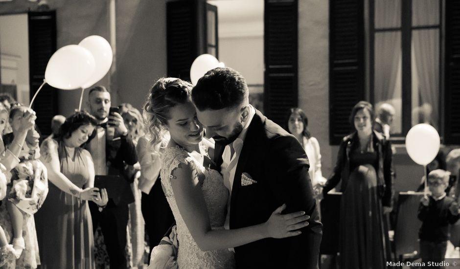 Il matrimonio di Lorenzo e Giulia a Arese, Milano