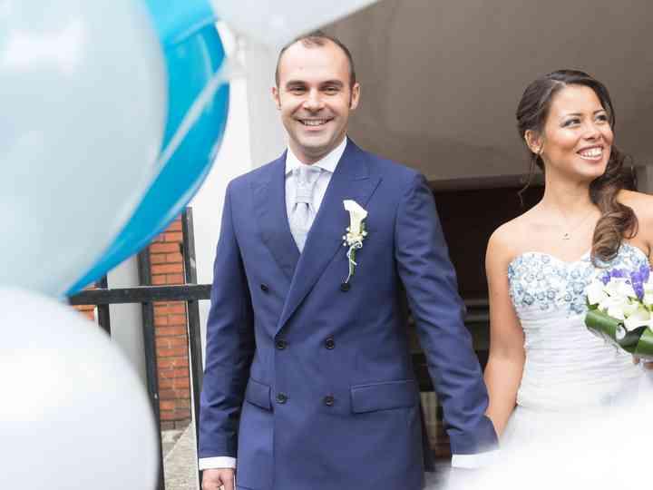 le nozze di Yanaidy e Andrea