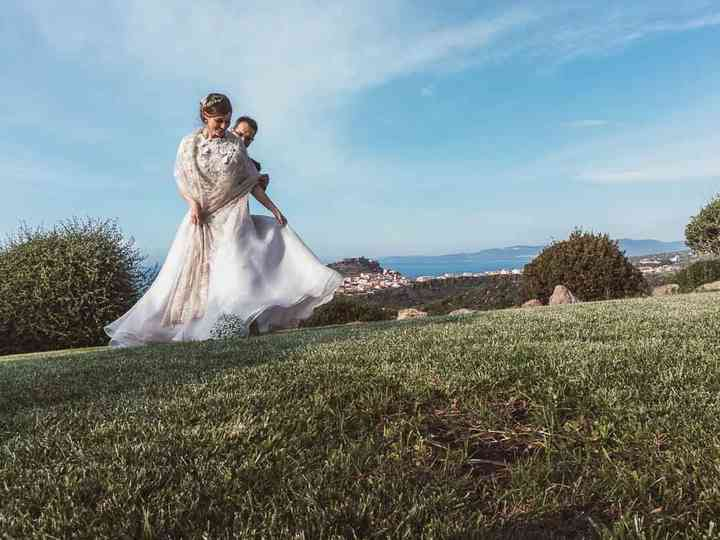 le nozze di Maria Paola e Alessio