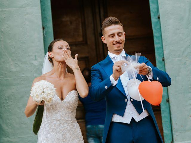 le nozze di Valentina e Gian Luigi