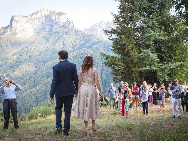 Il matrimonio di Luca e Marusca a Stazzema, Lucca 35