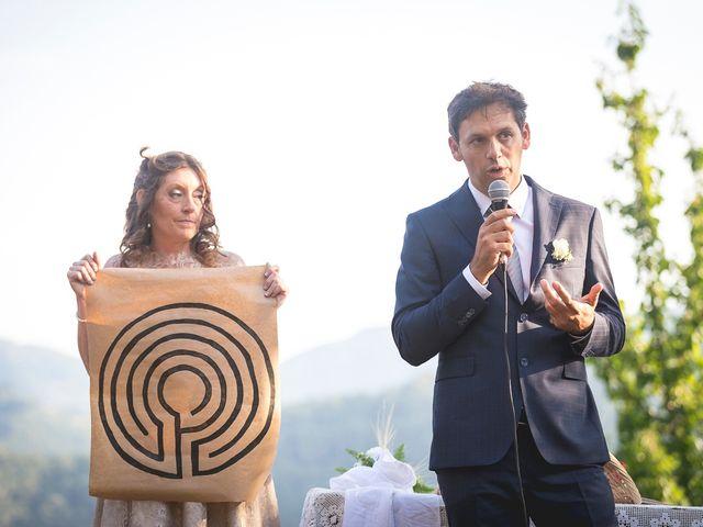 Il matrimonio di Luca e Marusca a Stazzema, Lucca 44