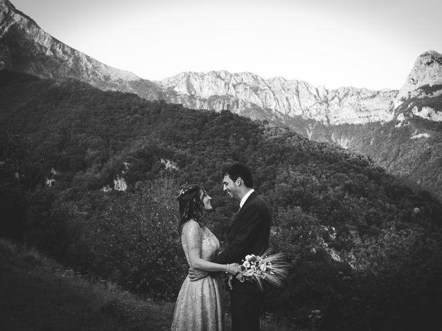 Il matrimonio di Luca e Marusca a Stazzema, Lucca 69