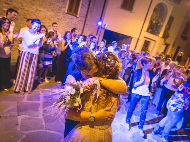Il matrimonio di Luca e Marusca a Stazzema, Lucca 110