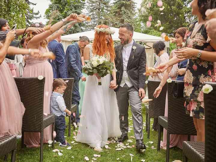 le nozze di Sara e Christian