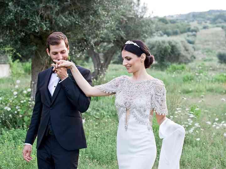 le nozze di Claudia e Alessio