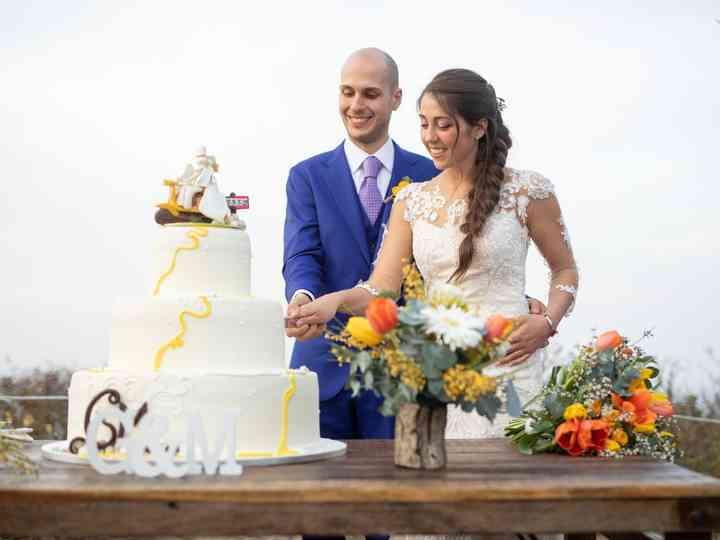le nozze di Maria Grazia e Giulio