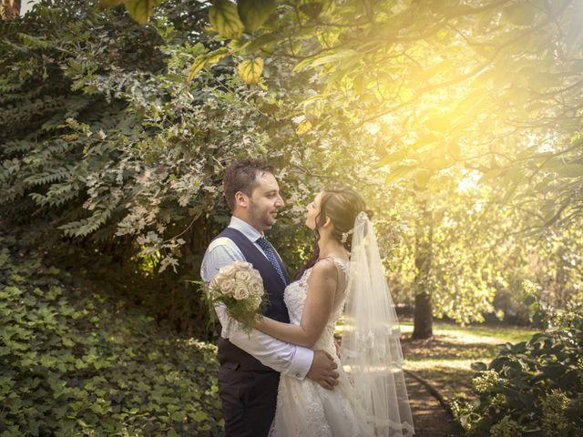 le nozze di Claudia e Michele