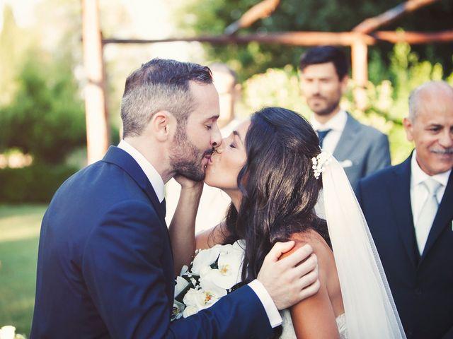 Il matrimonio di Federico e Vianca a Castel Sant'Elia, Viterbo 20