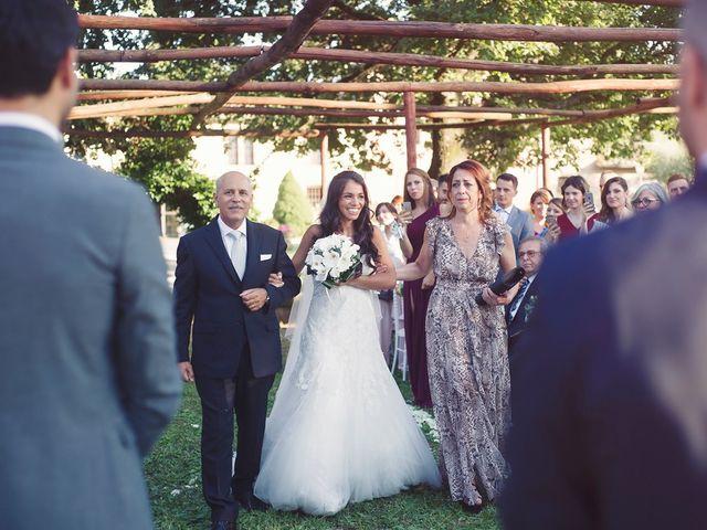 Il matrimonio di Federico e Vianca a Castel Sant'Elia, Viterbo 21