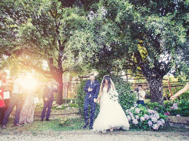 Il matrimonio di Federico e Vianca a Castel Sant'Elia, Viterbo 23