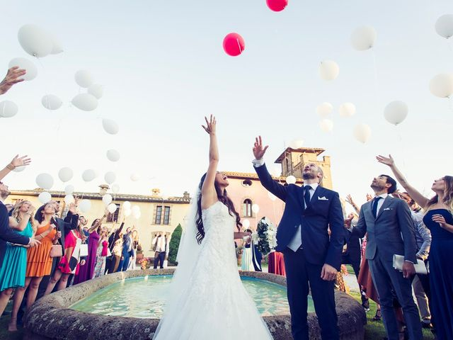 Il matrimonio di Federico e Vianca a Castel Sant'Elia, Viterbo 25