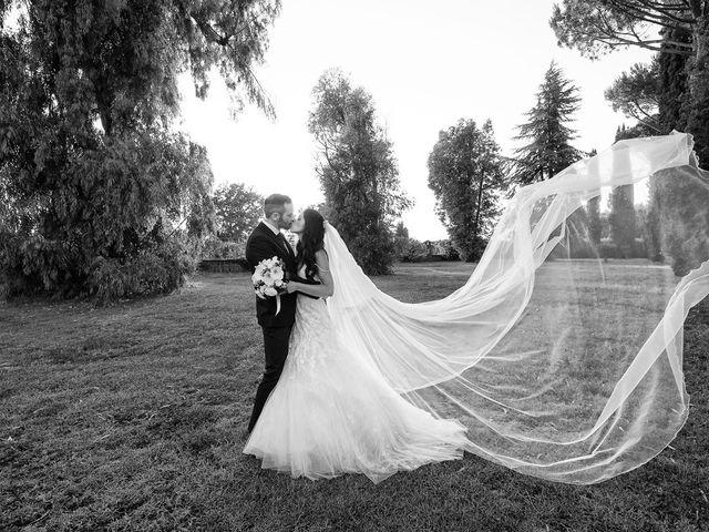 Il matrimonio di Federico e Vianca a Castel Sant'Elia, Viterbo 26