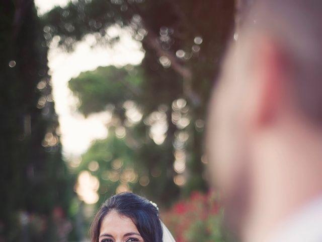 Il matrimonio di Federico e Vianca a Castel Sant'Elia, Viterbo 29