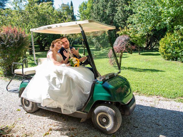 Il matrimonio di Lorenzo e Silvia a Monasterolo del Castello, Bergamo 37