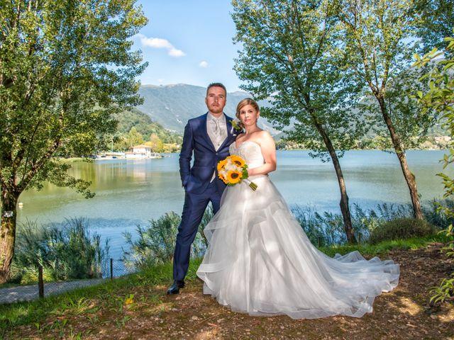 Il matrimonio di Lorenzo e Silvia a Monasterolo del Castello, Bergamo 41