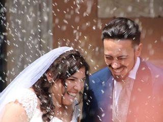 Le nozze di Fabio e Melania