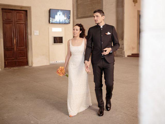 Il matrimonio di Simone e Chiara a Figline Valdarno, Firenze 13
