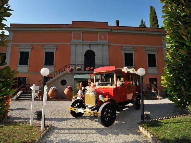 Il matrimonio di Massimiliano e Ilaria a Pistoia, Pistoia 47
