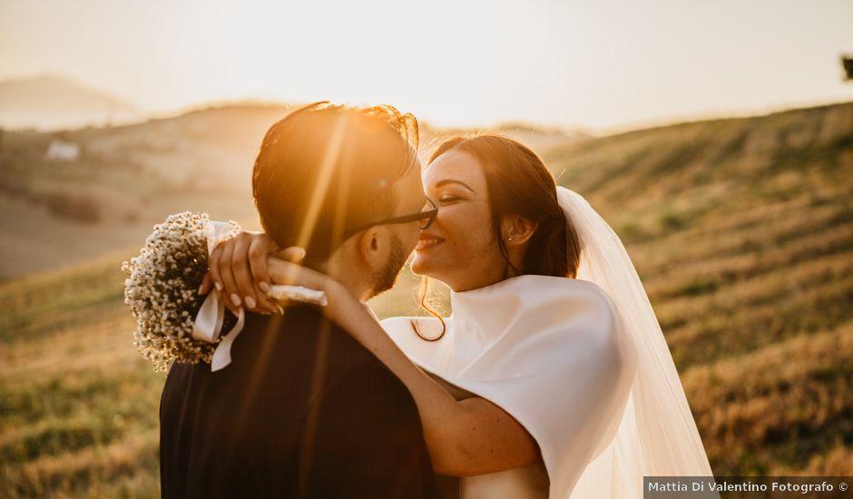 Il matrimonio di Marco e Valeria a Mosciano Sant'Angelo, Teramo
