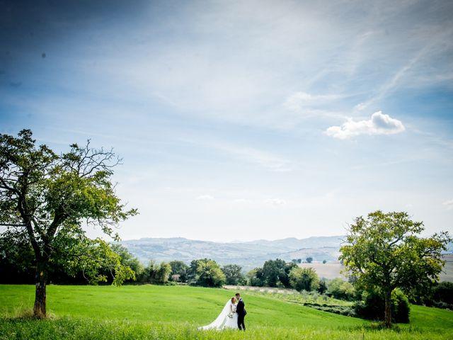 Il matrimonio di Diego e Serena a Fossombrone, Pesaro - Urbino 34