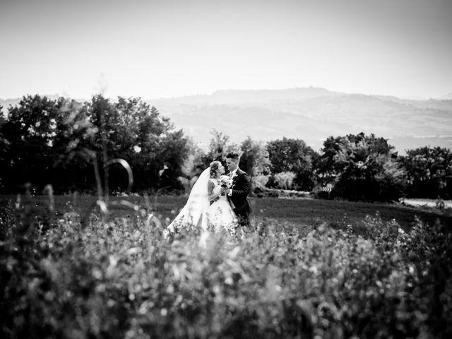 Il matrimonio di Diego e Serena a Fossombrone, Pesaro - Urbino 35