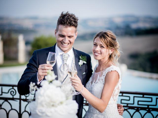 Il matrimonio di Diego e Serena a Fossombrone, Pesaro - Urbino 45