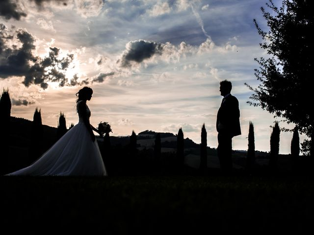 Il matrimonio di Diego e Serena a Fossombrone, Pesaro - Urbino 50
