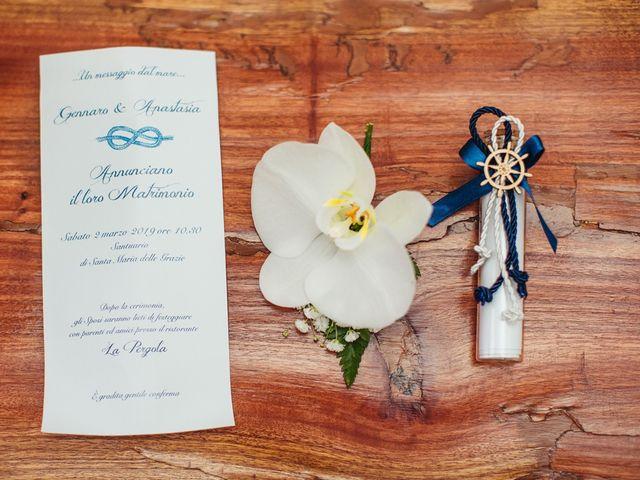 Il matrimonio di Gennaro e Anastasia a Procida, Napoli 3