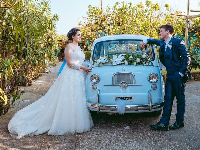 Il matrimonio di Gennaro e Anastasia a Procida, Napoli 59