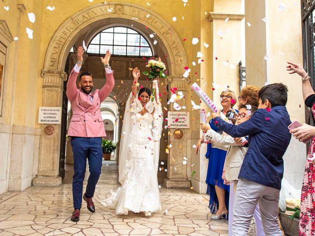 Il matrimonio di Andrea e Marzia a Brescia, Brescia 34