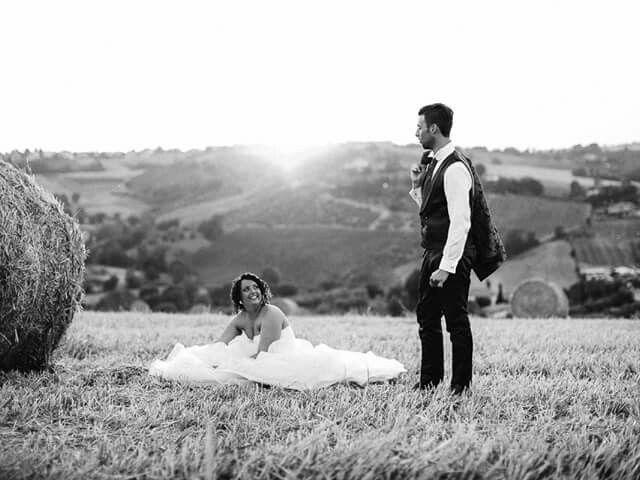 Il matrimonio di Nicola e Chiara a Montescudo, Rimini 1